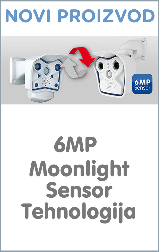 Novi proizvod - 6MP Moonlight Sensor Tehnologija